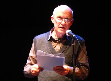 John Hall performing at PW12, Arnolfini