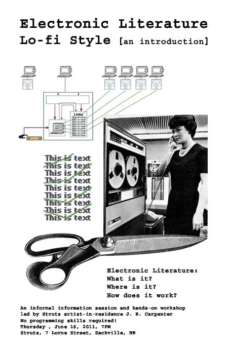 Electronic Literature Lo-fi Style