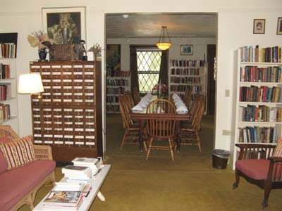 Yaddo Authors Library